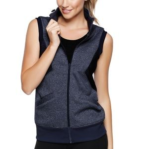 Lorna Jane Angelique Sleeveless Jacket Vest